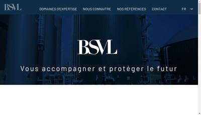 Site internet de SAS Bsvl