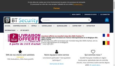Site internet de Bt Import Export