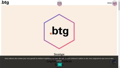 Site internet de Btg Communication