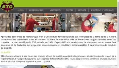 Site internet de Btg Bouthegourd