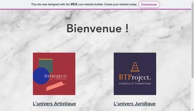 Site internet de Camille Colloch