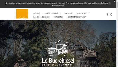 Site internet de Restaurant Buerehiesel SA