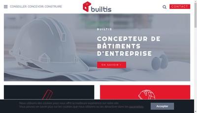 Site internet de Builtis SARL