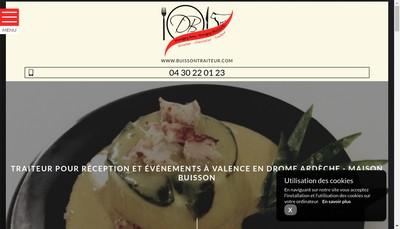 Site internet de SARL Michel et Damien Buisson