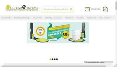 Site internet de SAS Bulteau Systems