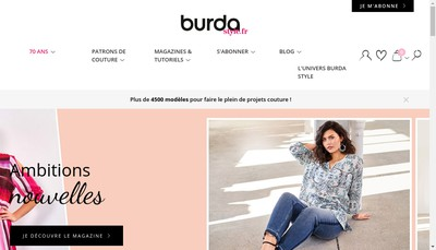Site internet de Editions Dipa Burda SAS