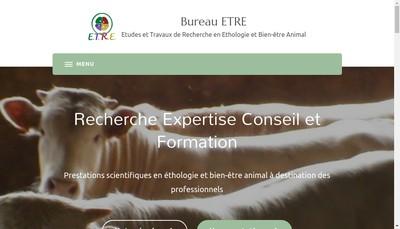 Site internet de Cecile Bourguet
