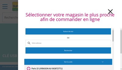 Site internet de Papeterie des Vergers