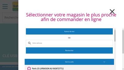 Site internet de Bureau Vallee SAS Go Ahead
