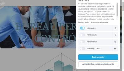 Site internet de Bureau Perform Controle