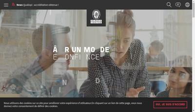 Site internet de Bureau Veritas Certification France