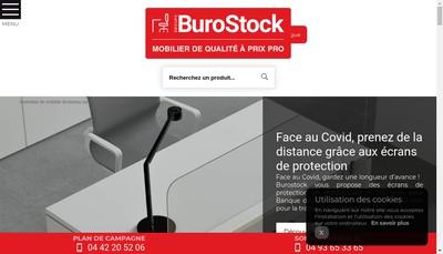 Site internet de A Burostock