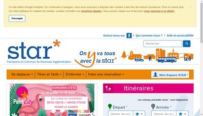 Site internet de STAR