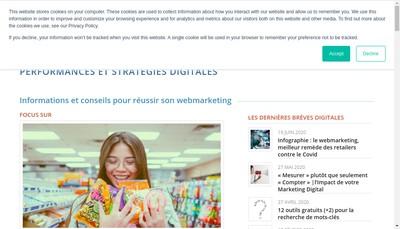 Site internet de Business Marketing Service