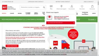 Site internet de But
