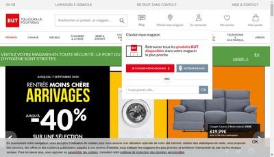 Site internet de But le Juste Prix