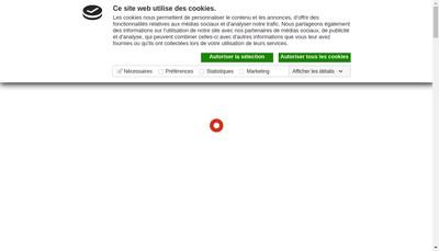 Site internet de Buzy