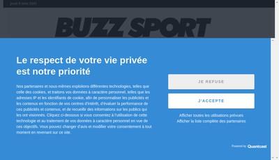 Site internet de Webuzz Dotcom