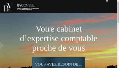 Site internet de Bv Conseil
