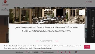 Site internet de Maison Monarque