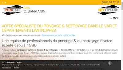 Site internet de C Darmanin