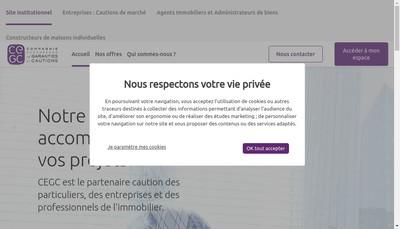 Site internet de Cegi