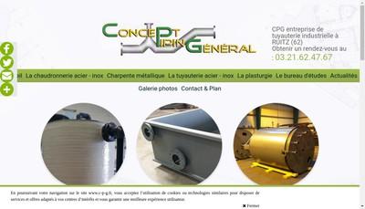 Site internet de CPG