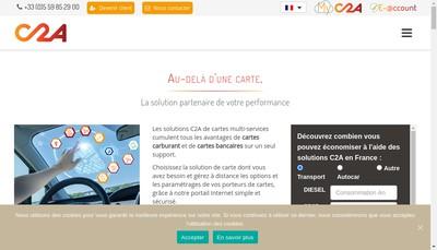 Site internet de C2A
