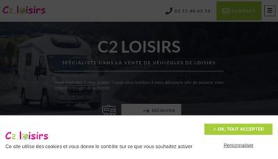 Site internet de C2 Loisirs