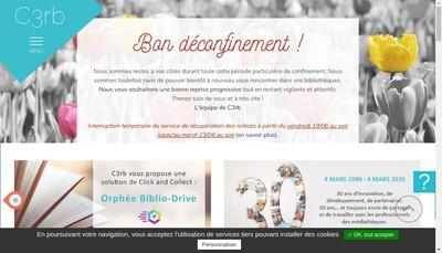 Site internet de C3Rb Informatique