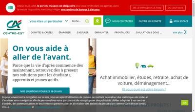 Site internet de Credit Agricole Centre-Est Developpement Immobilier