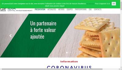 Site internet de Credit Agricole Capital Investissment et Finance