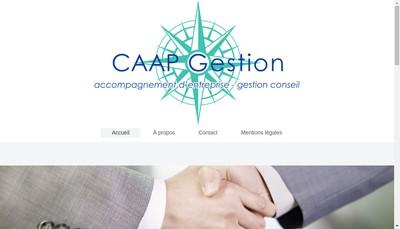Site internet de CAAP Gestion