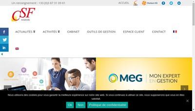 Site internet de Csf & Associes