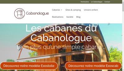 Site internet de Cabanologue