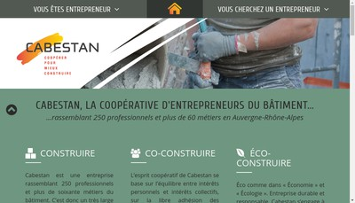 Site internet de Cabestan Energies