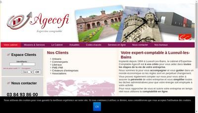 Site internet de Agecofi
