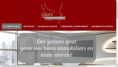 Site internet de Cabinet Galey