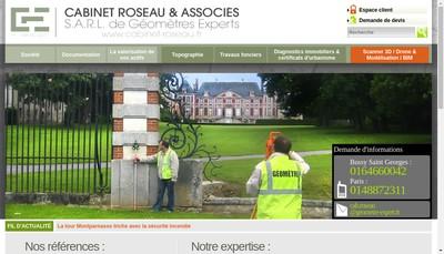 Site internet de Cabinet Roseau