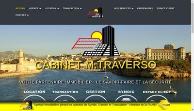 Site internet de Cabinet O Traverso