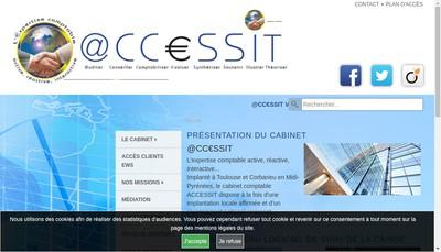 Site internet de @Ccessit