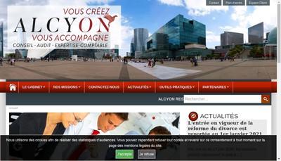 Site internet de Alcyon