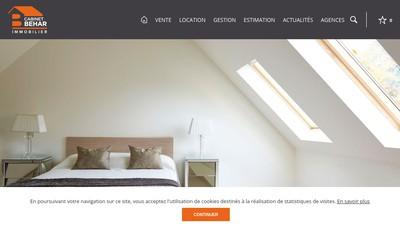 Site internet de Cabinet Behar