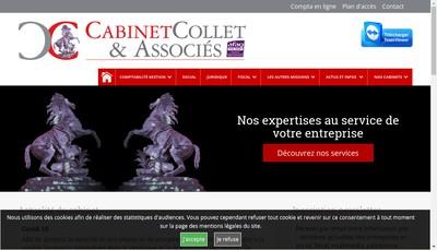 Site internet de Cabinet Collet et Associes