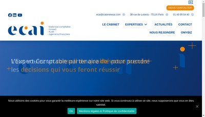 Site internet de ECAI