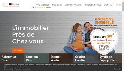 Site internet de Cabinet Favreau