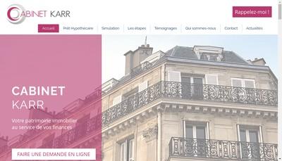Site internet de Cabinet Karr