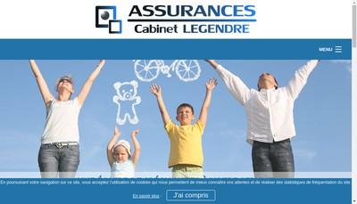 Site internet de Cabinet Legendre