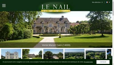 Site internet de Le Nail et Associes
