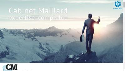 Site internet de Cabinet Maillard